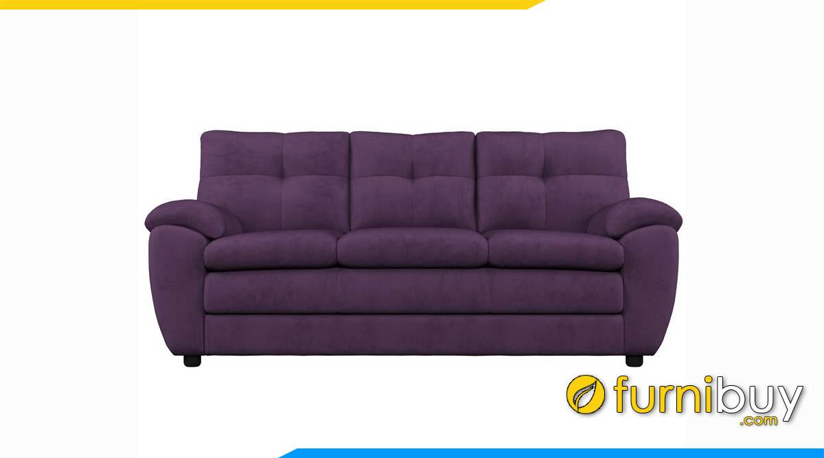 ghe sofa vang mau tim 3 cho ngoi