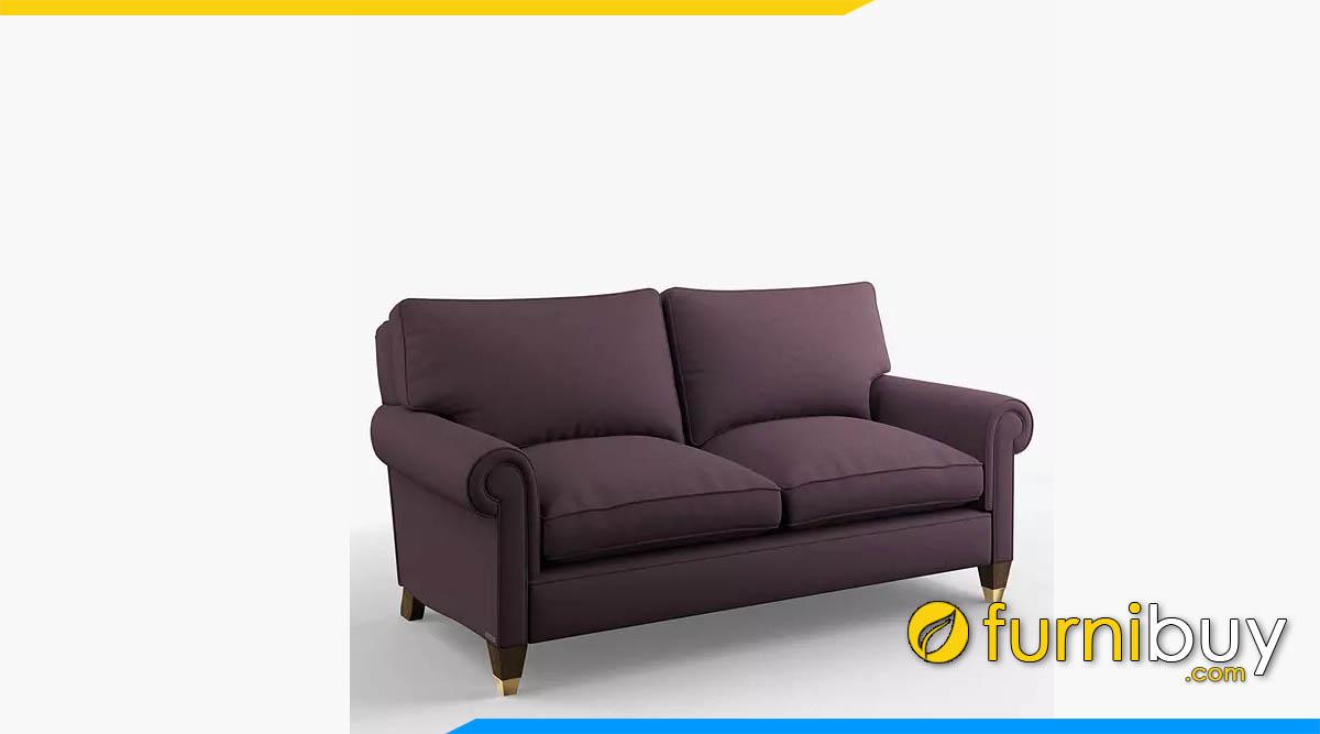 ghe sofa vang mau tim dàng vang 2 cho ngoi