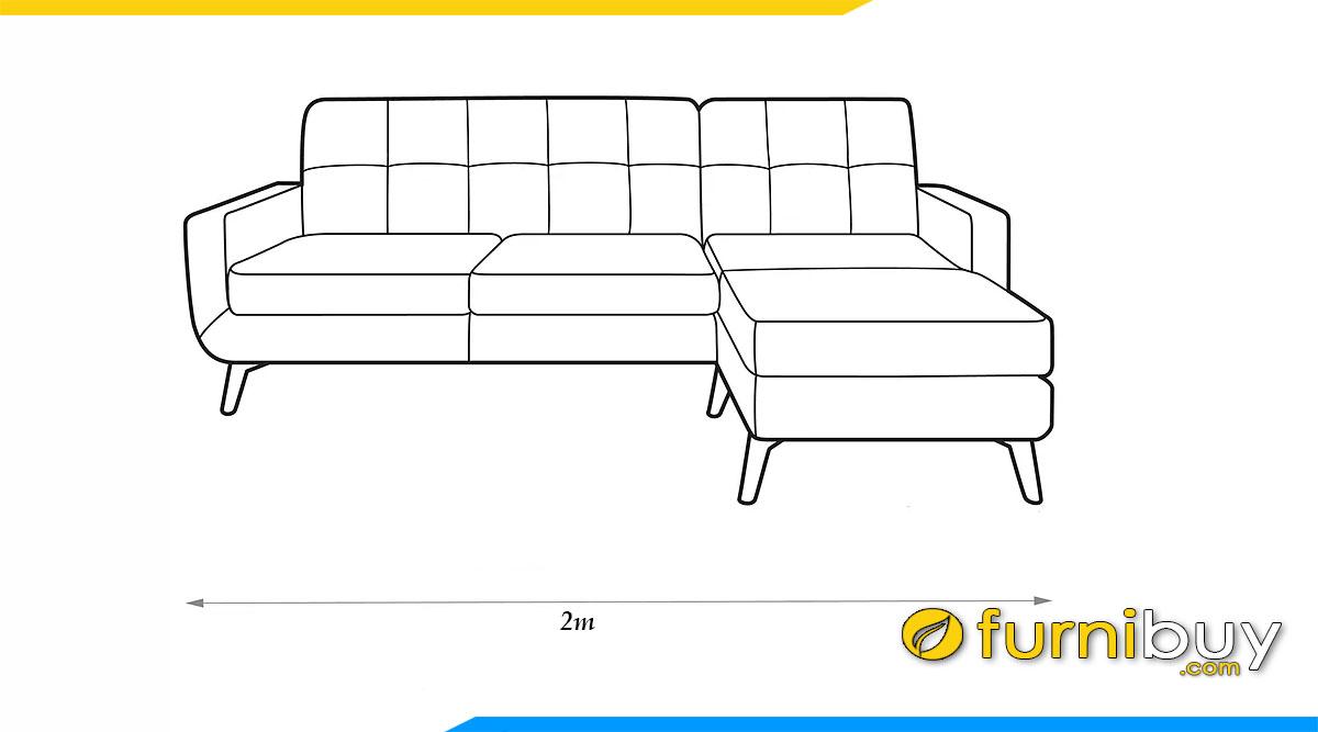 kich thuoc sofa goc 2m