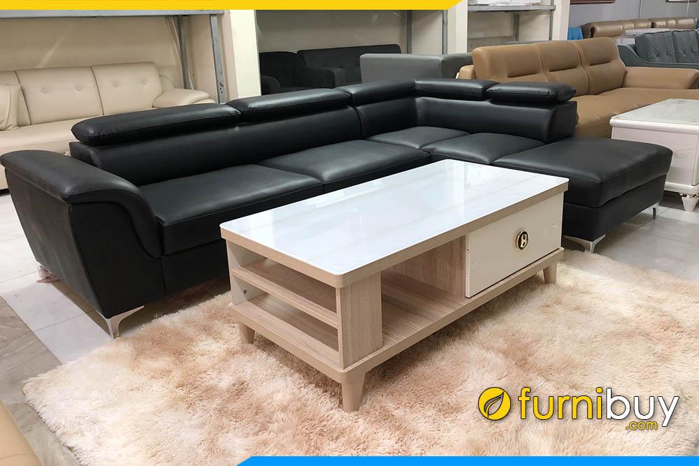 Mẫu bàn trà gỗ phòng khách đẹp hiện đại FBBTR503
