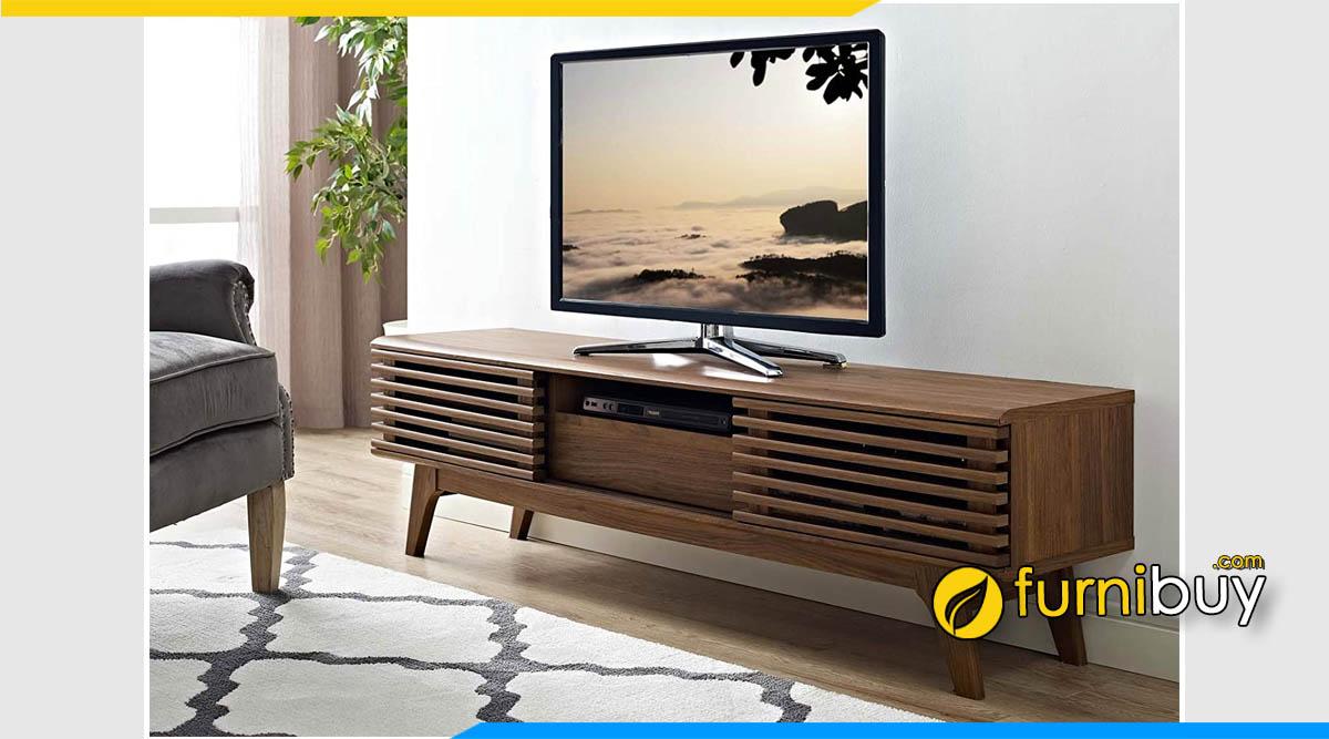 Mẫu kệ tivi gỗ đẹp tại Hải Phòng