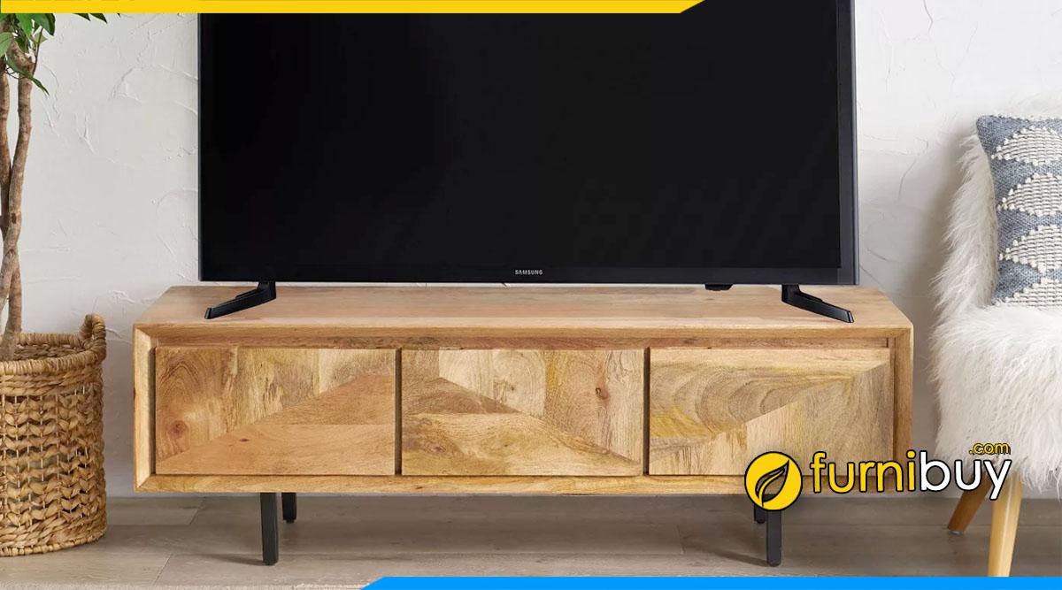 Mẫu kệ tivi gỗ đẹp Lào Cai bán chạy