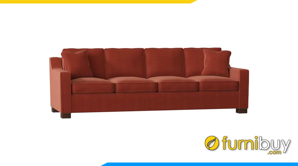 sofa vang 4 cho ngoi hien dai
