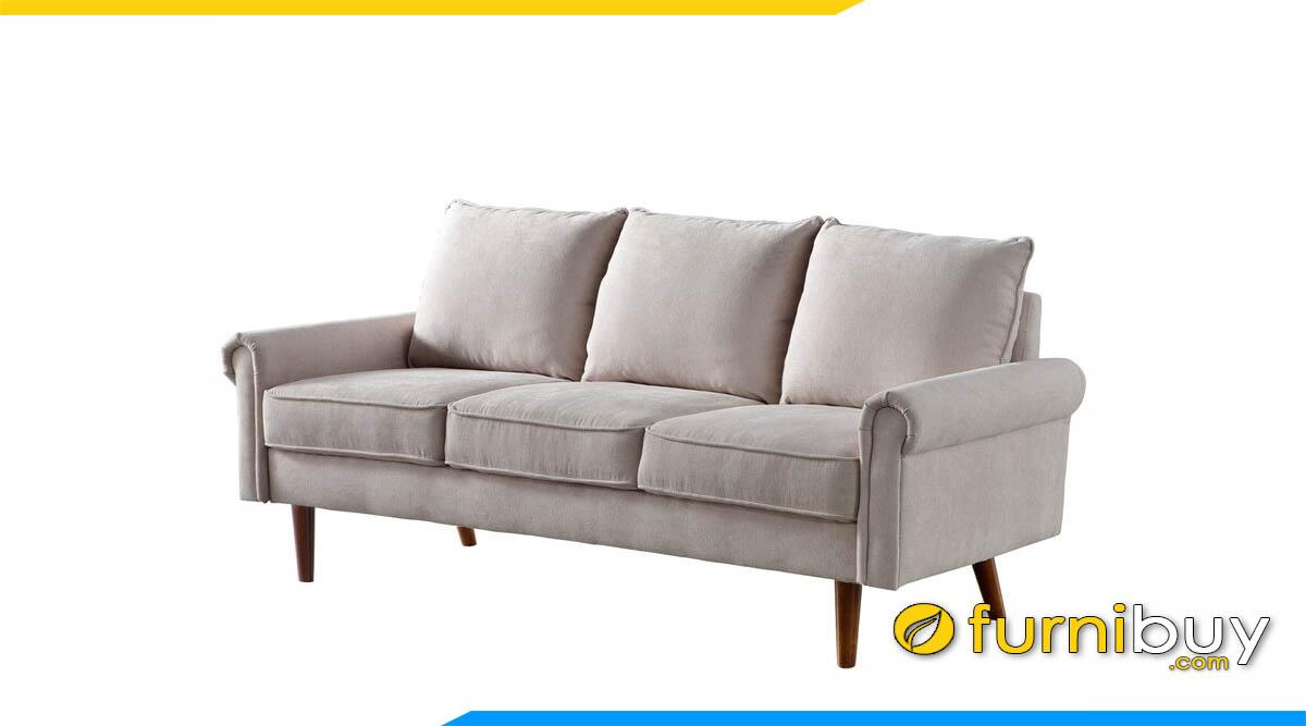 sofa 3 cho ngoi mau be kieu dang don gian
