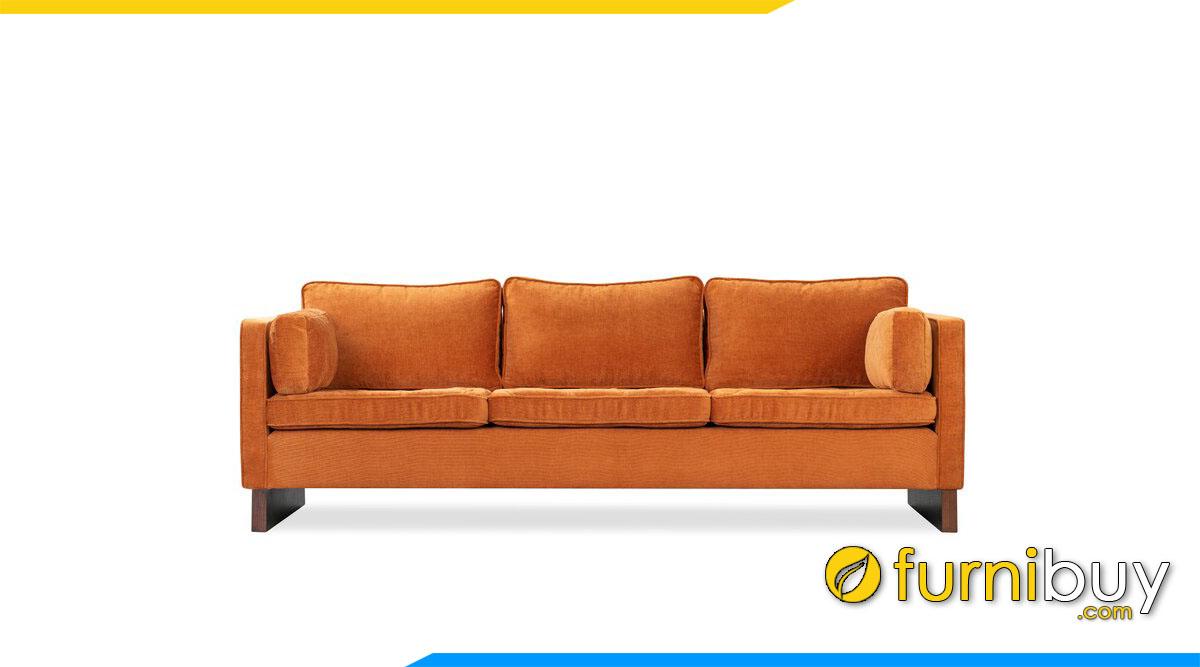 sofa 3 cho ngoi mau da cam tay tua vuong