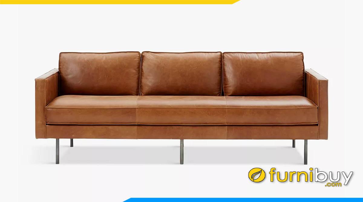 sofa bang dai 3 cho ngoi mau nau lanh