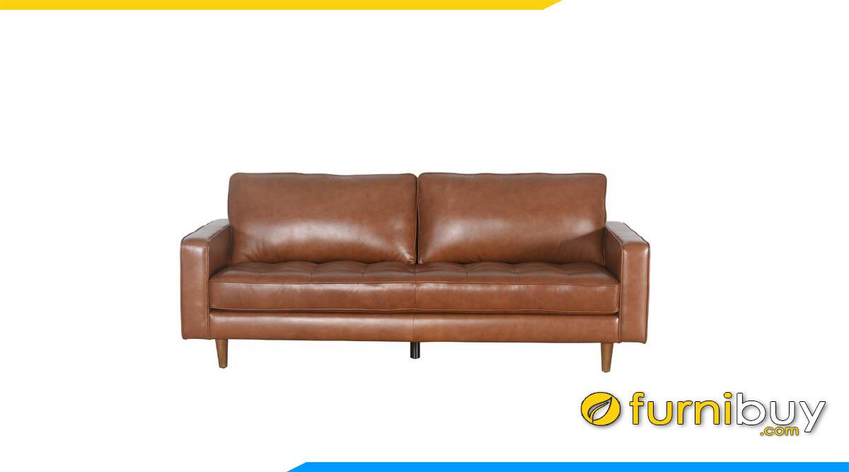 sofa bang dai boc da mau nau tay