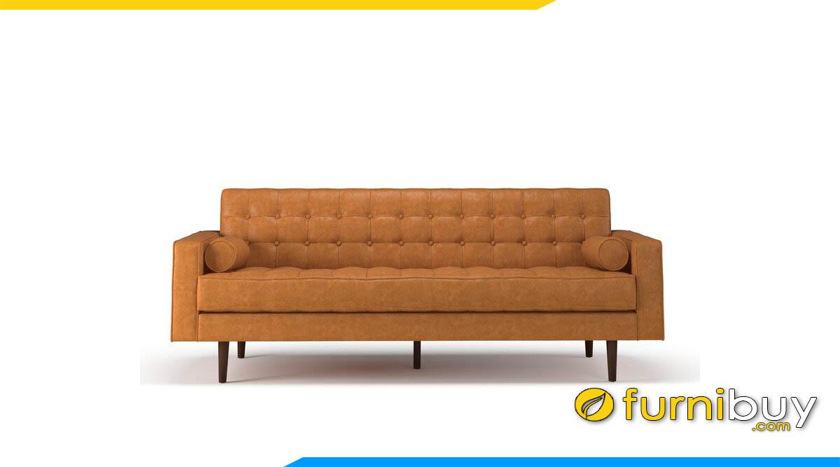 sofa bang dai hien dai mau da bo may rut chi tua lung