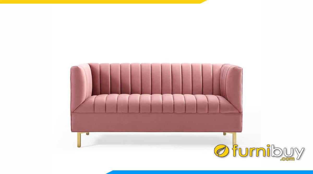 sofa bang dai mau hong chan de ma vang