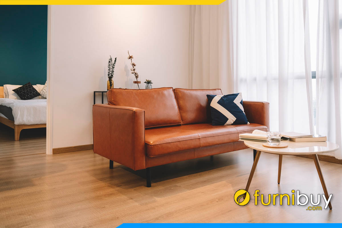 sofa bang dai mau nau da bo ke phong khach