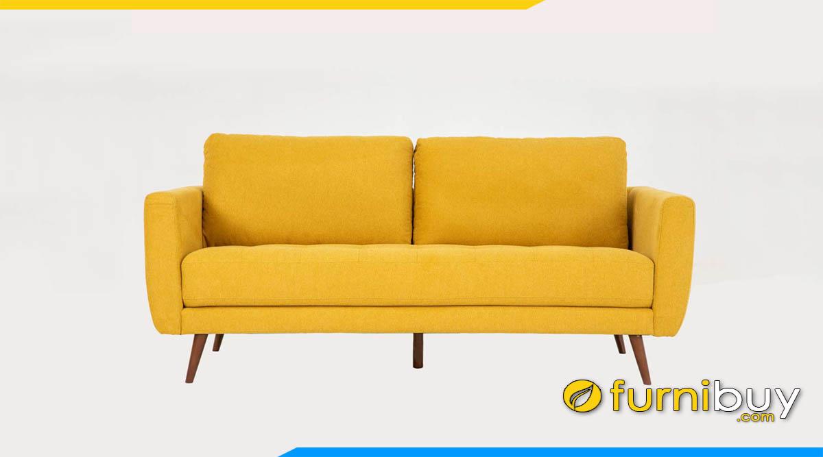 sofa bang ni 2 cho ngoi mau vang tre trung