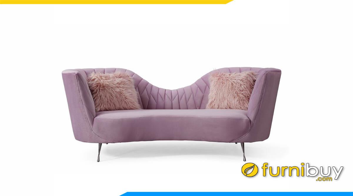 sofa canh chim mau hong tim hien dai
