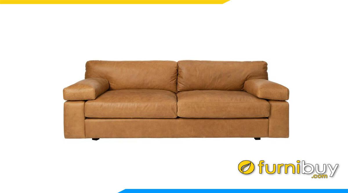 sofa don gian mau nau da bo 2 cho ngoi