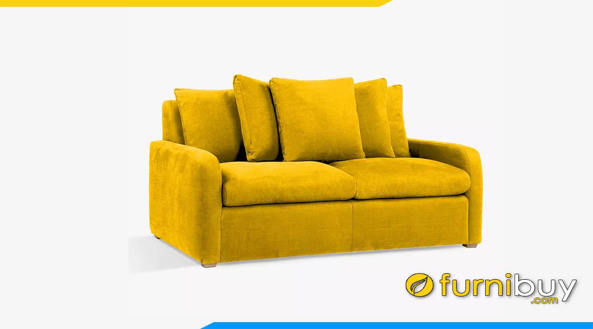 sofa don gian mau vang 2 cho ngoi
