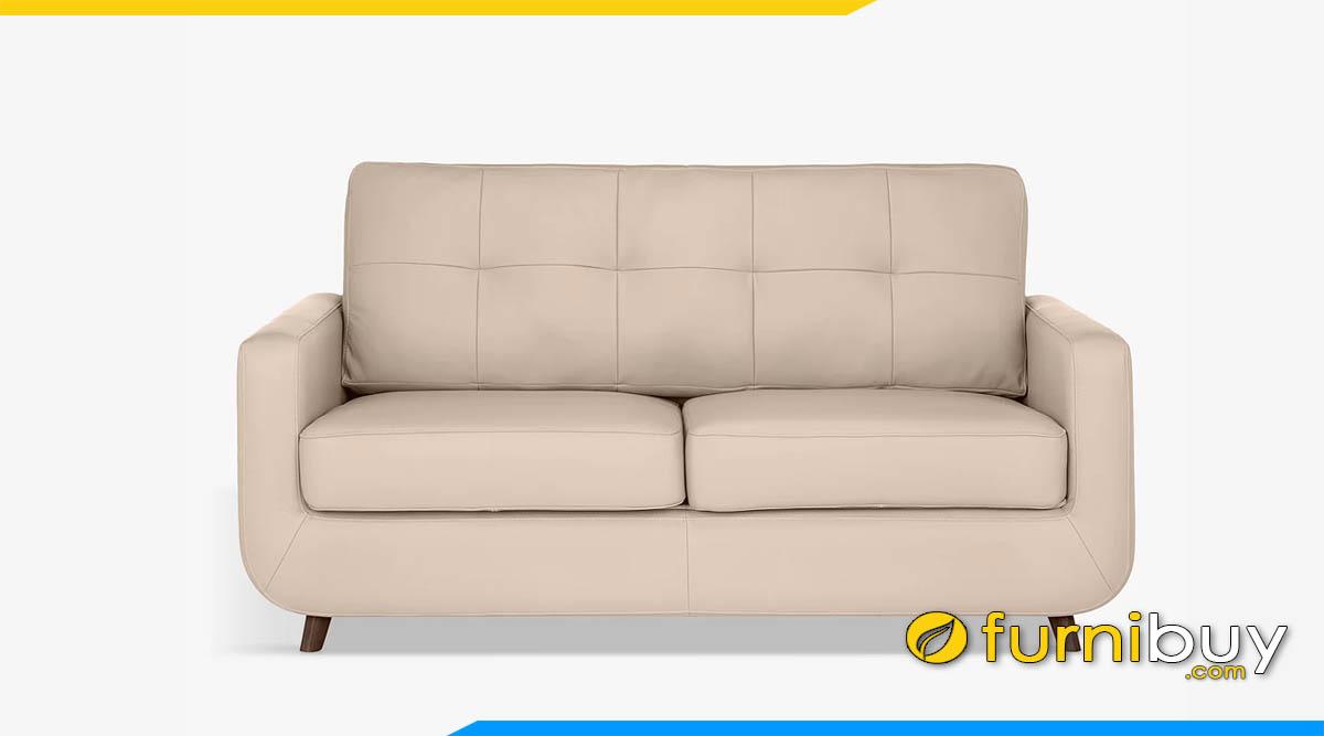 sofa mau be dang vang 2 cho ngoi nho xinh