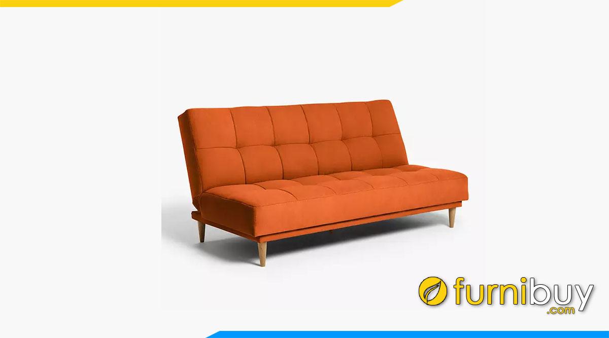 sofa mau da cam boc ni dang vang khong tay vin