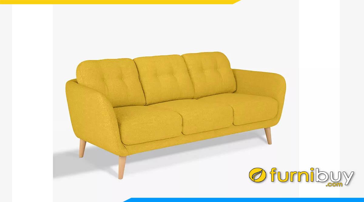 sofa mau vang dep dang vang 3 cho ngoi