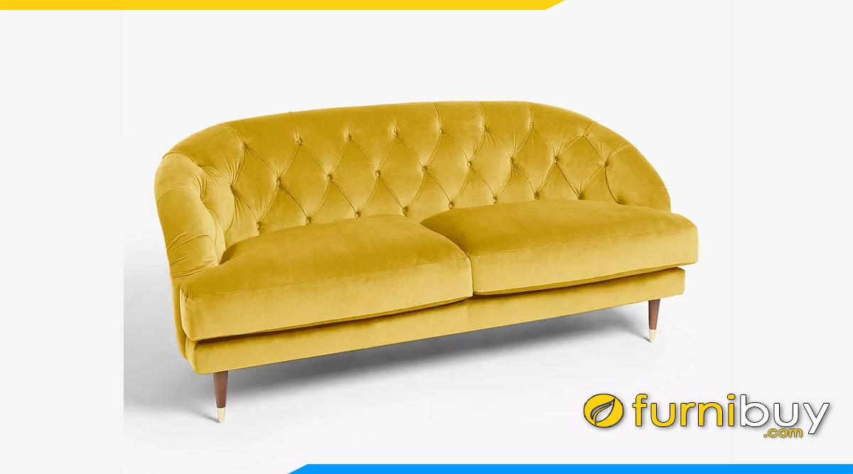 sofa mau vang tua lung bo tron doc dao