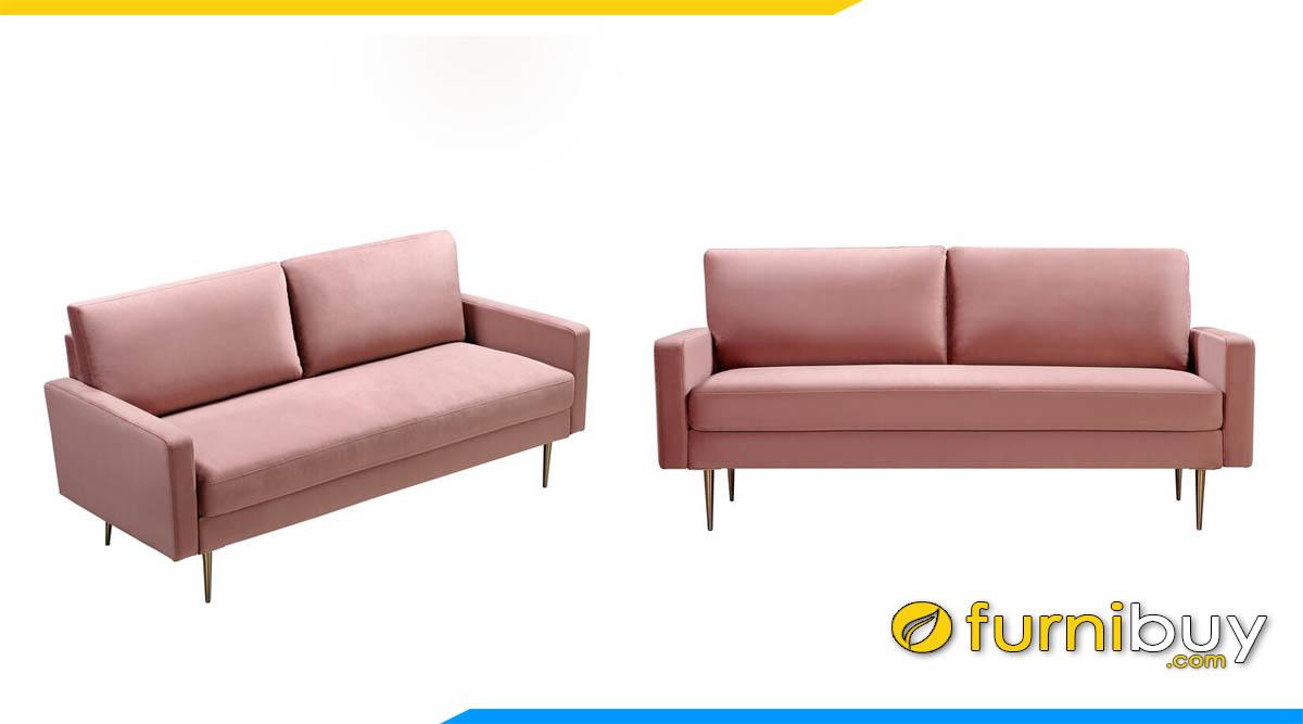 sofa mini nho xinh mau hong gia cuc re