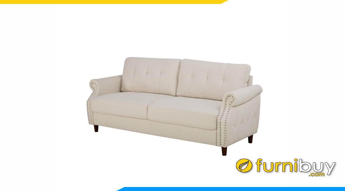 sofa ni mau be dang vang 2 cho ngoi
