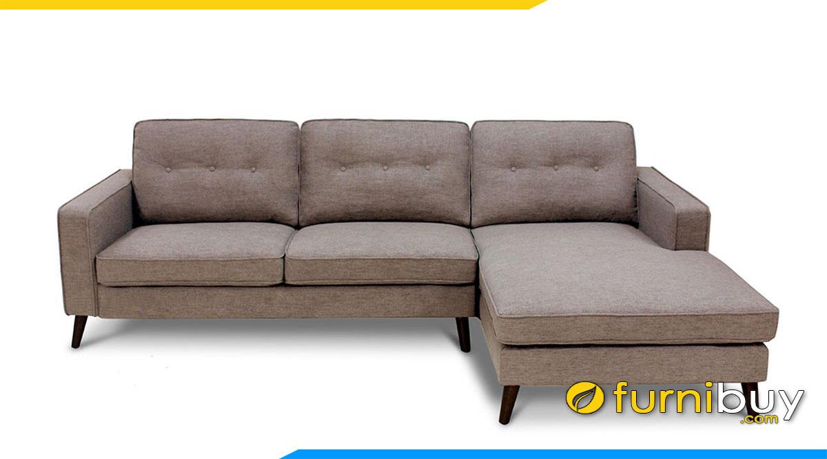 sofa ni mau nau dang goc chu l dai 2m
