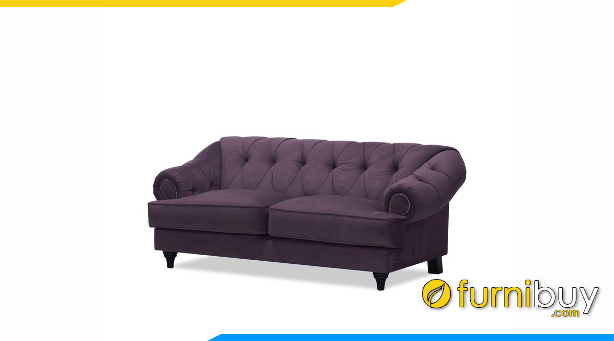 sofa tan co dien mau tim boc ni