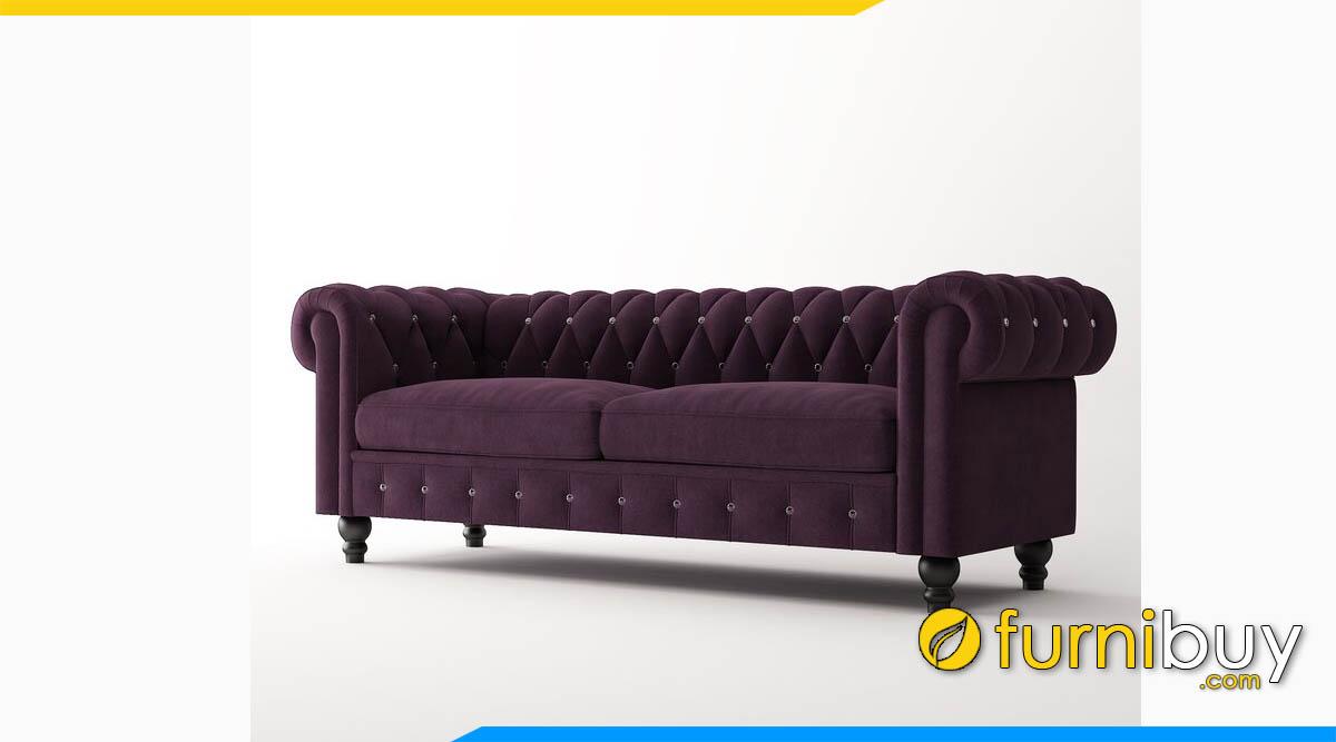 sofa tan co dien mau tim dang vang 2 cho ngoi