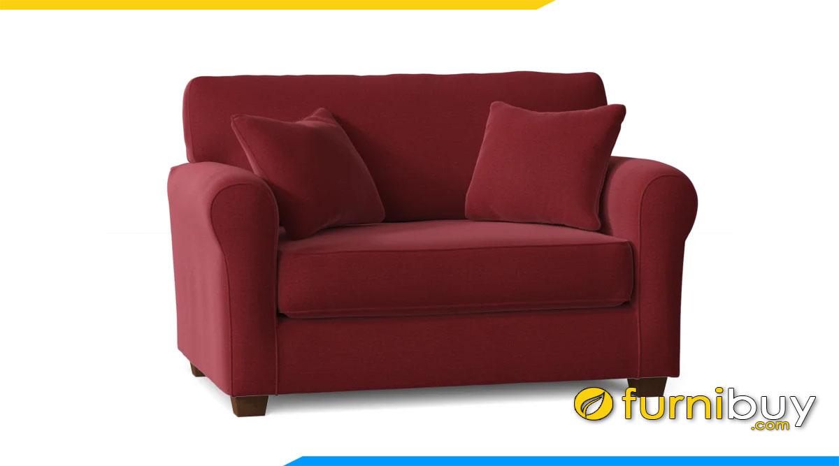 sofa vang mini mau do ke phong khach