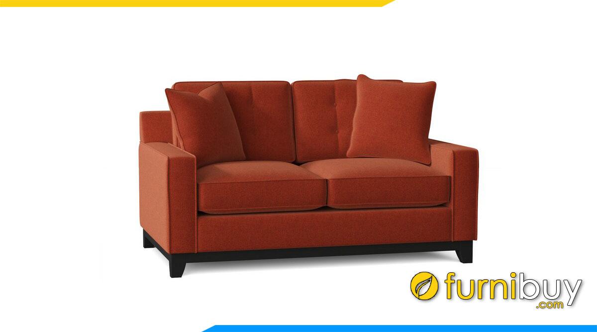 sofa vang 2 cho mau cam dat nho xinh