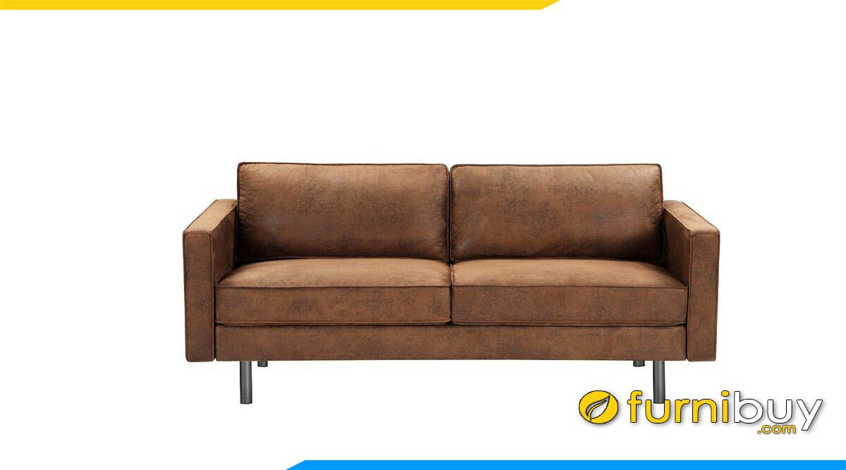sofa vang 2 cho ngoi mau nau