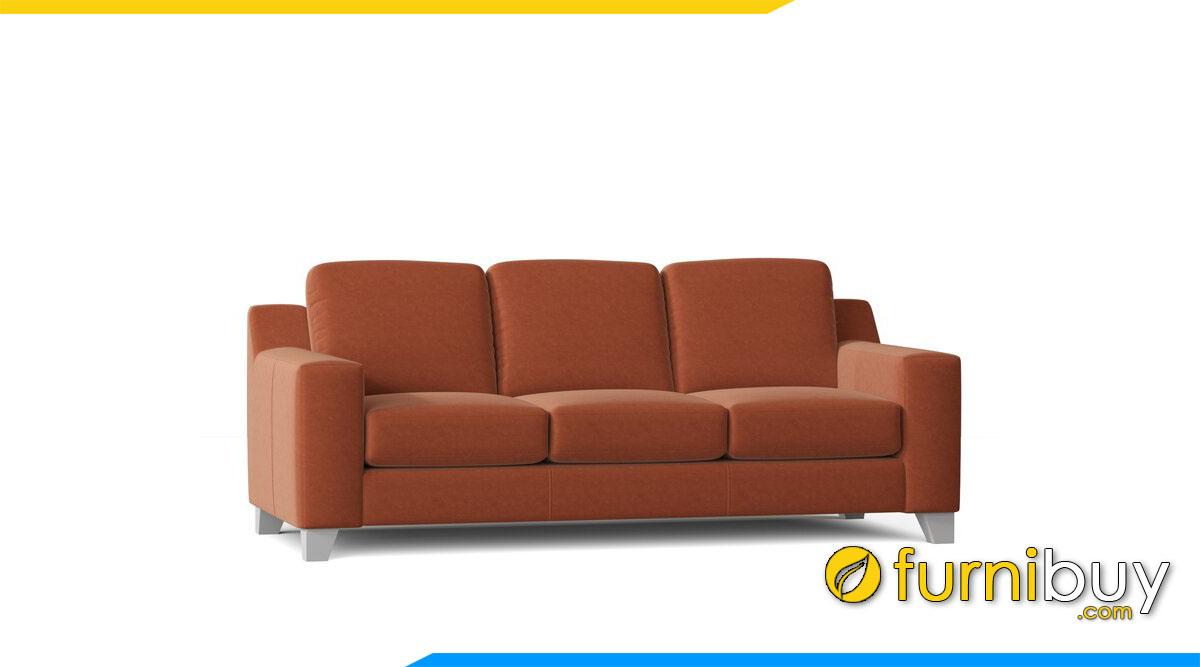 sofa vang 3 cho ngoi hien dai mau cam dat