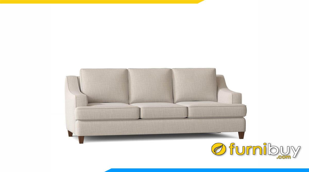 sofa vang 3 cho ngoi mau be hien dai