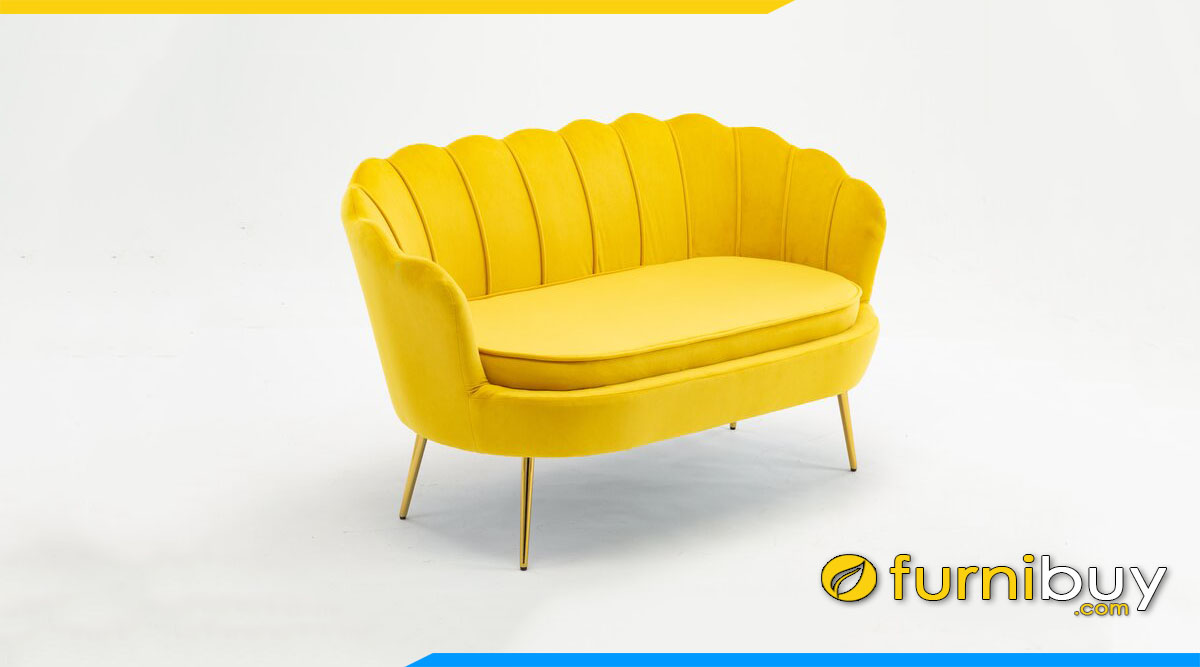 sofa vang canh hoa mau vang ruc ro