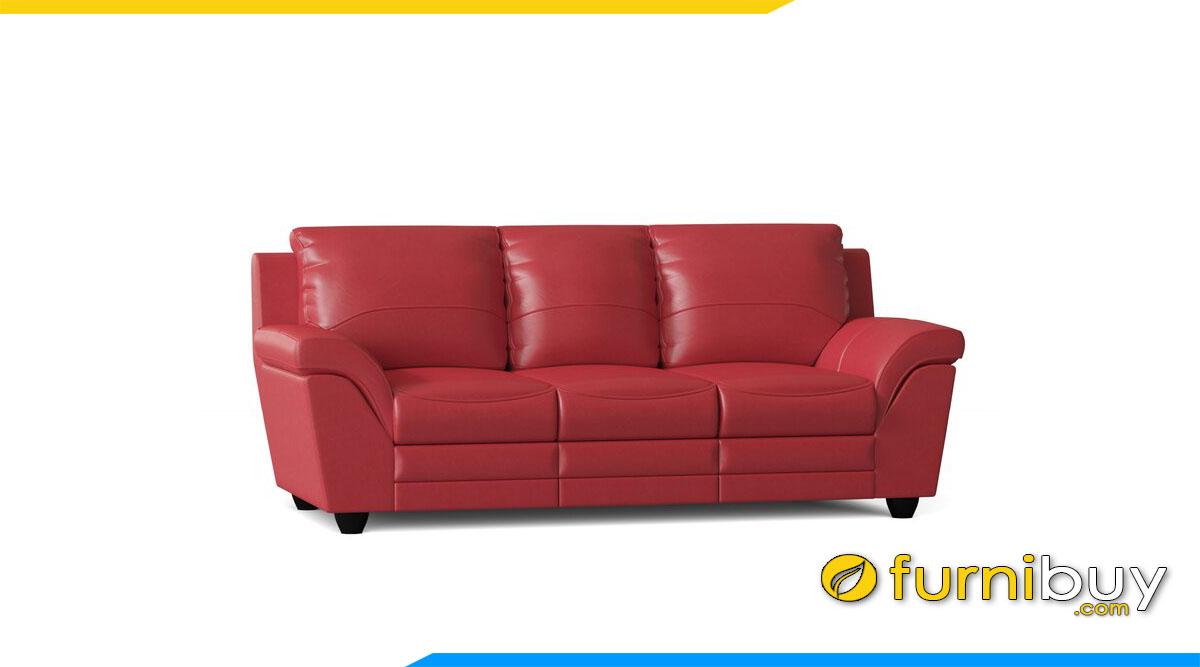 sofa vang da ke phong khach dep mau do