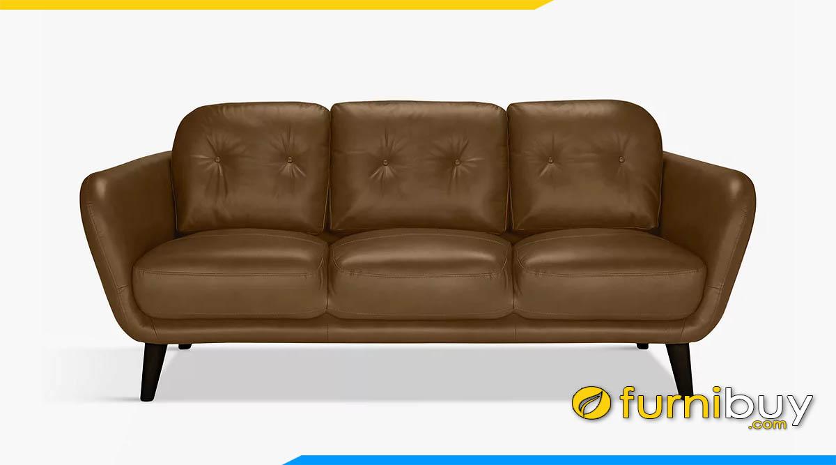 sofa vang da mau nau nhat tay tua mong