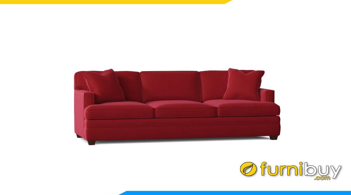 sofa vang mau do tay vin lom kieu dang don gian