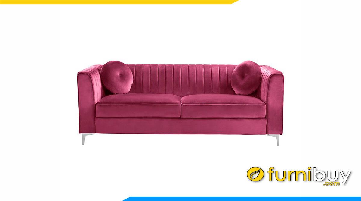 sofa vang mau hong hoa muoi gio cuc doc dao