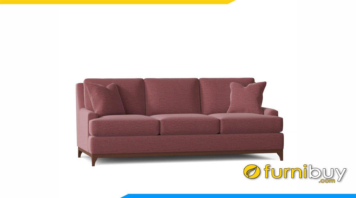 sofa vang mau hong tham 3 cho ngoi