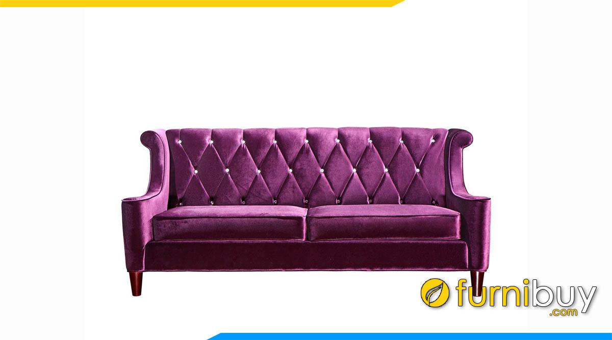 sofa vang mau tim tan co dien dinh khuya