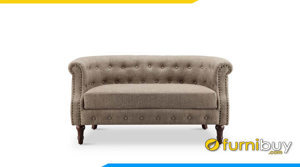 sofa vang mini bo tron tua lung