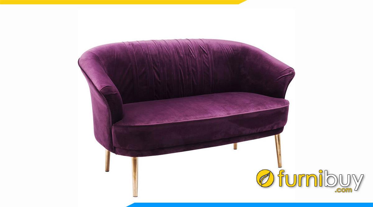 sofa vang mini mau tim kle quan cafe