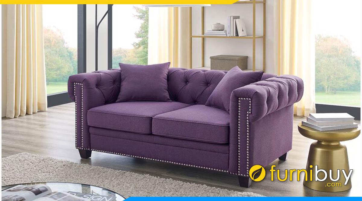 sofa vang mini nho xinh dang tan co dien
