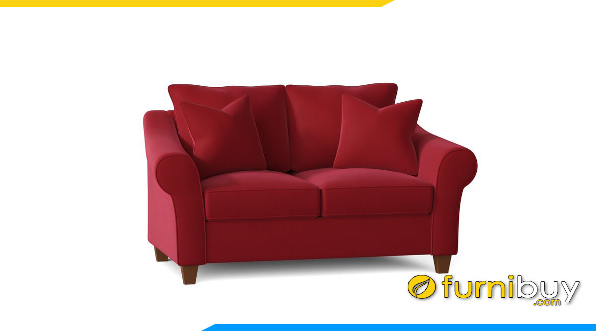 sofa vang ni 2 cho ngoi ke phong ngu