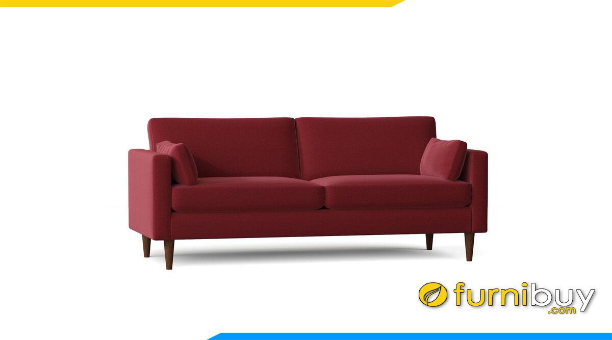 sofa vang ni hien dai mau do do