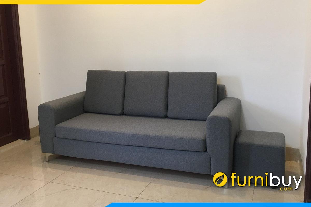 sofa vang ni mau nau ke phong lam viec