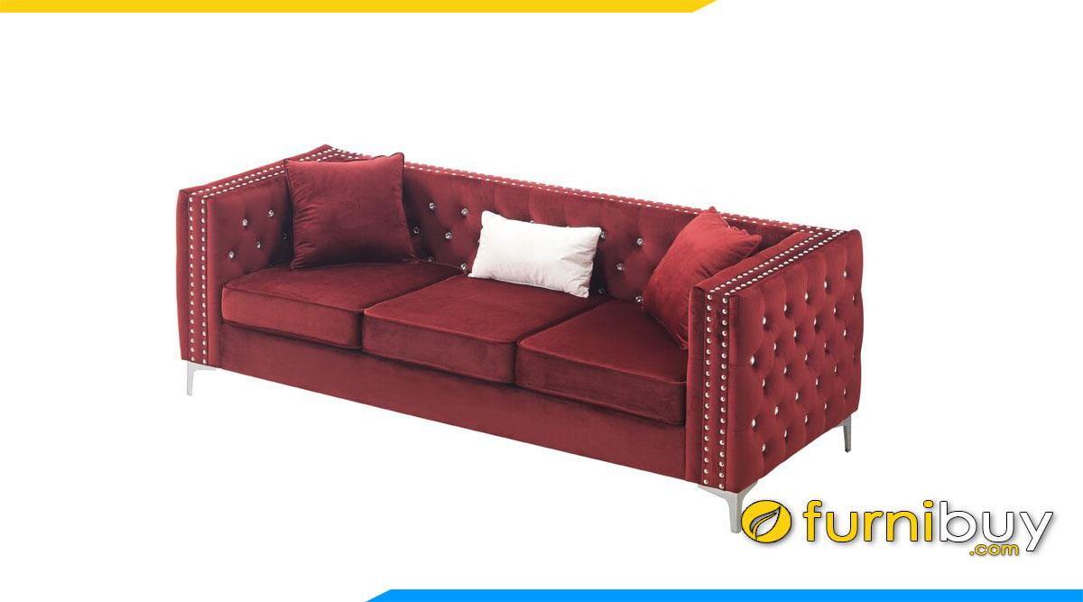 sofa vang tay vin vuong 3 cho ngoi
