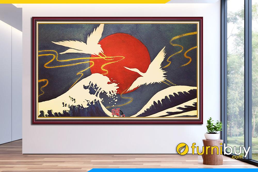 Tranh chim hac la tranh gi co y nghia gi