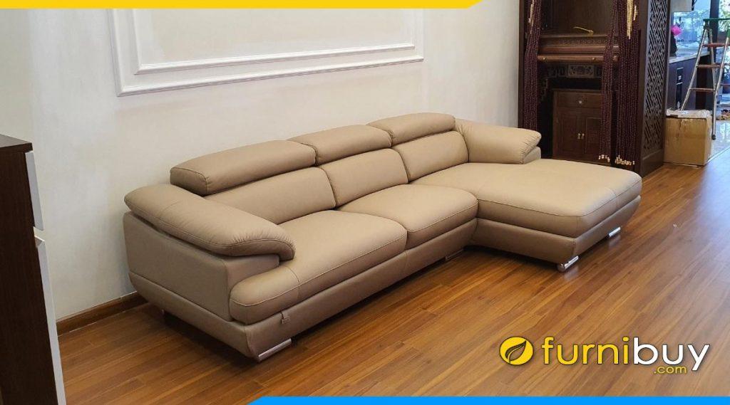 sofa goc chu l dep ke phong khach