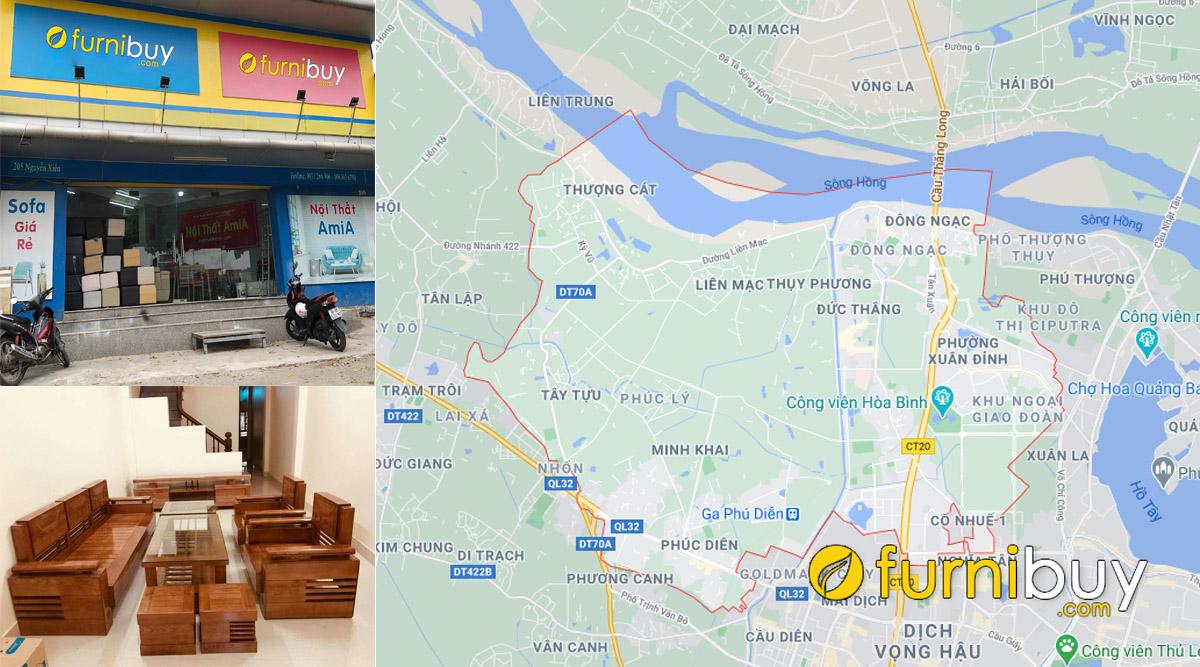 cửa hàng bán sofa gỗ tại bắc từ liêm đẹp giá rẻ