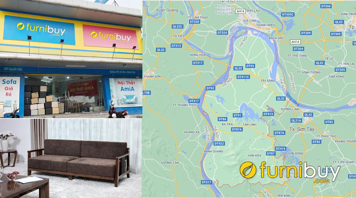 địa chỉ bán sofa gỗ ở huyện ba vì đẹp giá rẻ